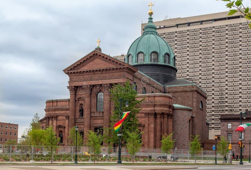 st Паыля peter philadelphia собора базилики стоковое фото rf