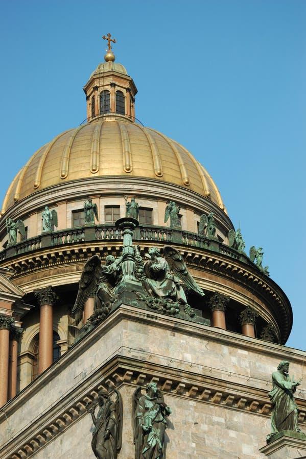 st святой isaac petersburg s купола собора стоковое изображение