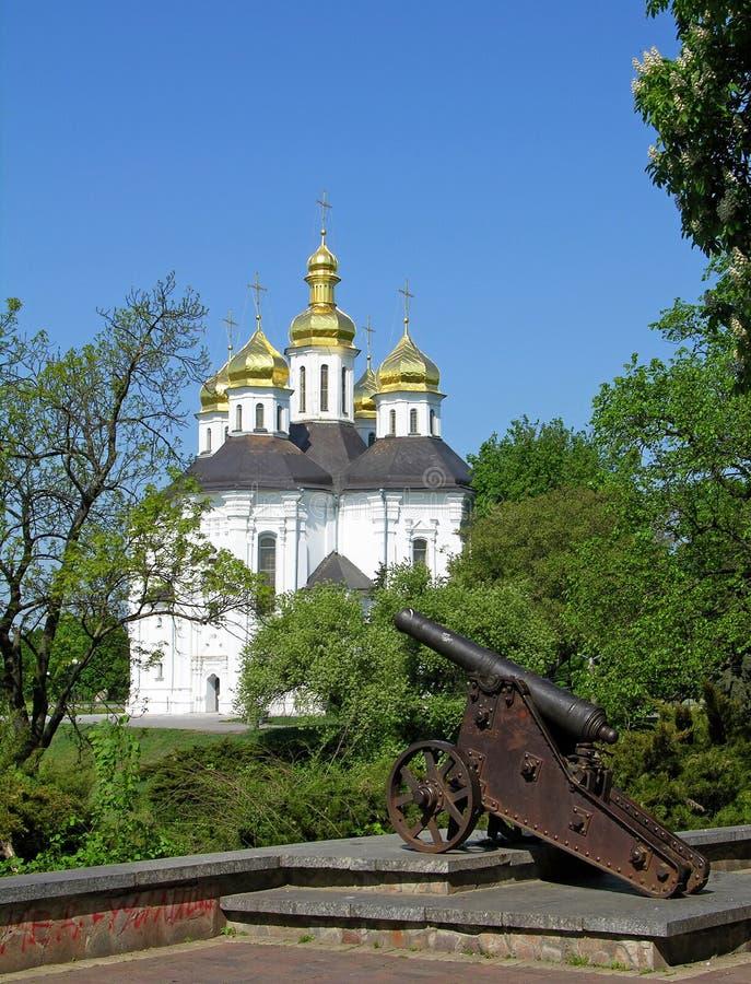 st Украина церков Кэтрины chernigov стоковые фото