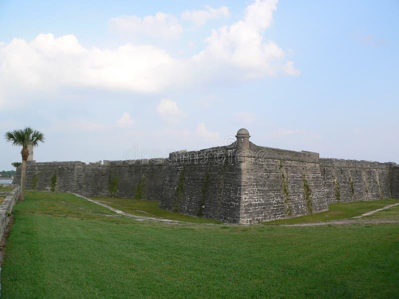 st форта augustine стоковое изображение