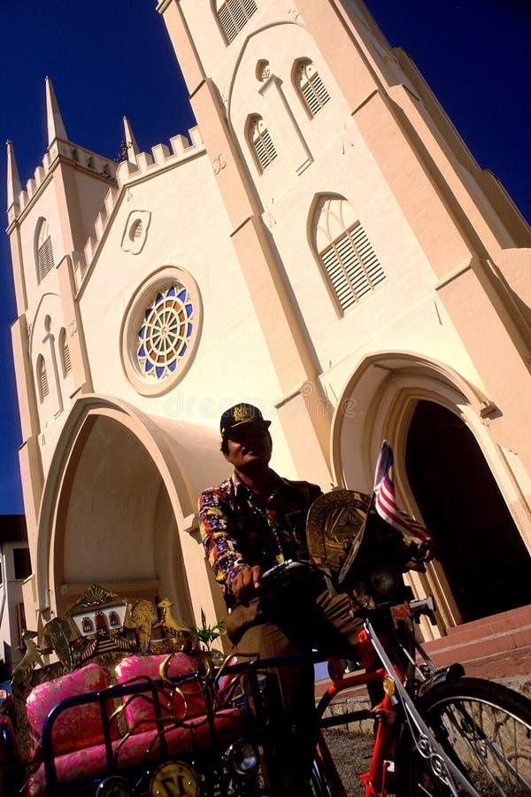 St.弗朗西斯・ Xavier教会 库存图片
