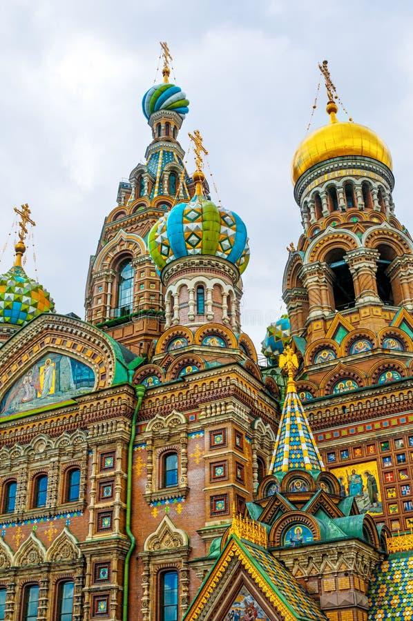 Download ST 彼得斯堡,俄罗斯- 2015年7月26日:救主的教会 图库摄影片 - 图片 包括有 蓝色, 地标: 62539582