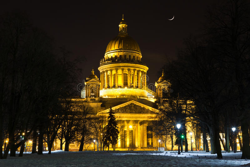 St.以撒的大教堂 免版税库存图片