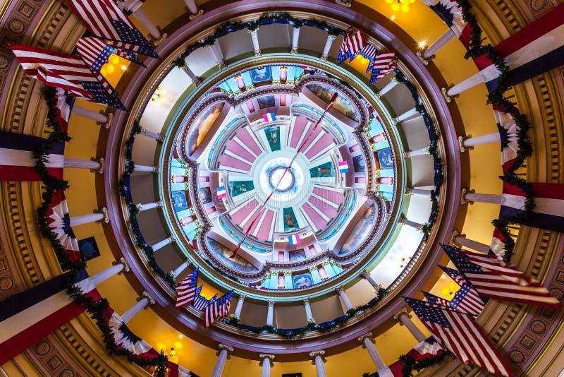 ST 路易斯, MO,美国- 2018年7月9日-看法圆形建筑在O 免版税库存图片