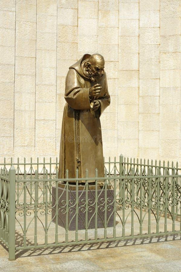 St Aalmoezenier Pio royalty-vrije stock fotografie
