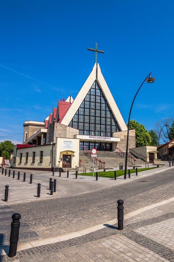 St. Adalbert och St. Catherine Collegiate Church royaltyfria foton