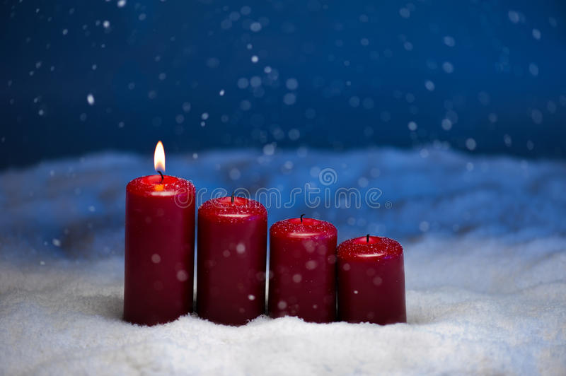 1st Advent stock photography