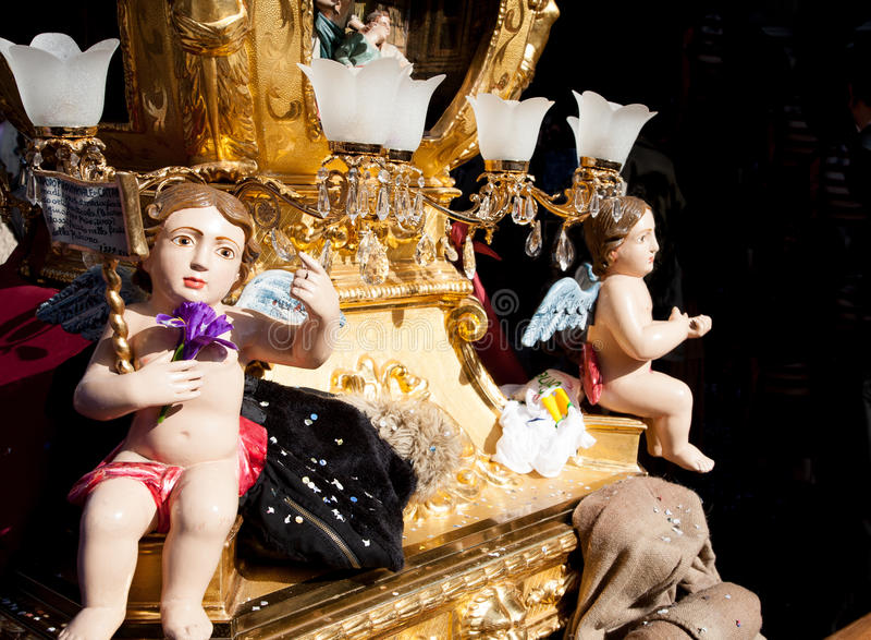 St. Agata feast royalty free stock photos