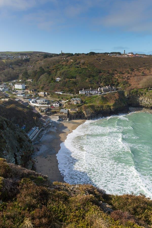 St. Agnes Cove North Cornwall England Großbritannien stockbilder