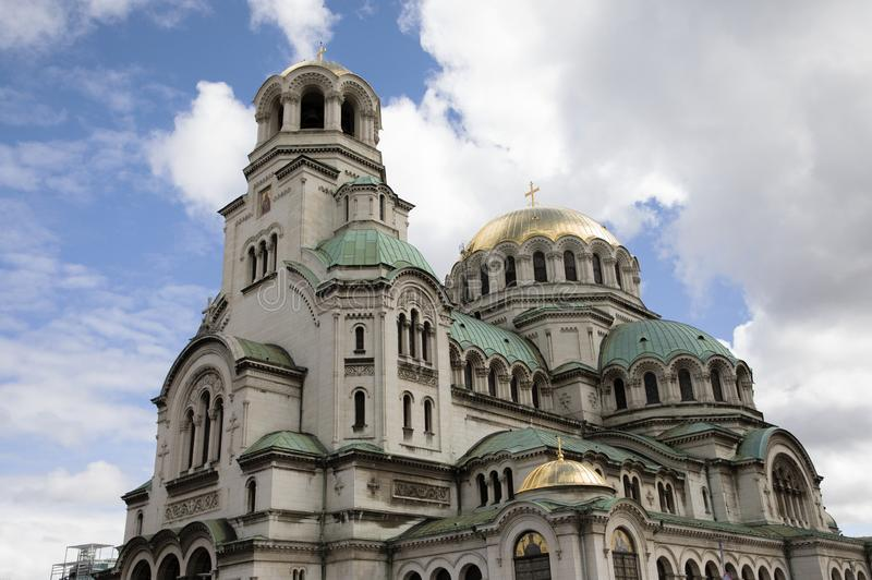 St Al Nevskikerk, Sofia, Bulgarije royalty-vrije stock foto's