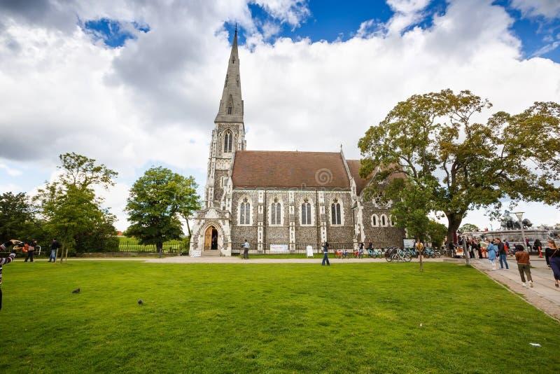 St Alban ` s kościół obraz royalty free