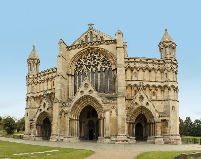 St- Albanskathedrale Hertfordshire England lizenzfreies stockbild