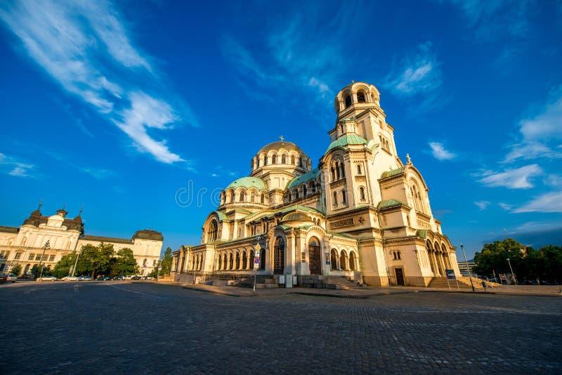 St Aleksander Nevsky katedra obraz stock