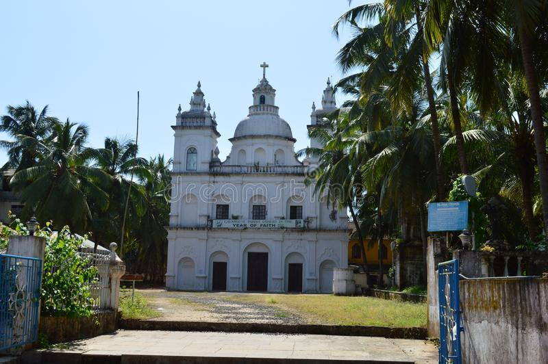 St Alex Church, Goa imágenes de archivo libres de regalías