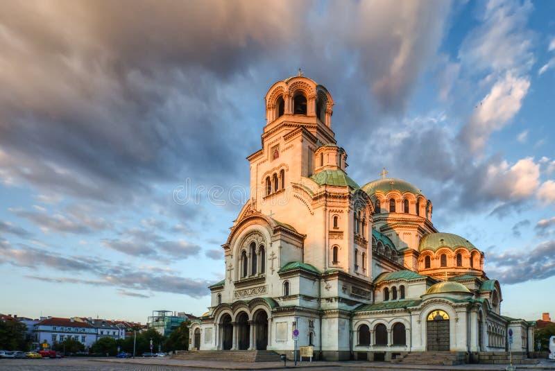 St Alexander Nevsky Cathedral, Sofía foto de archivo