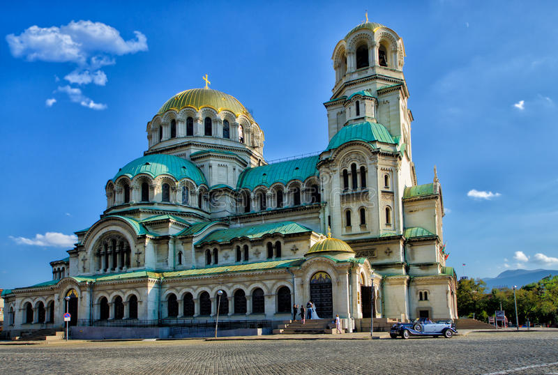 St Alexander Nevsky Cathedral, Sofía imagenes de archivo