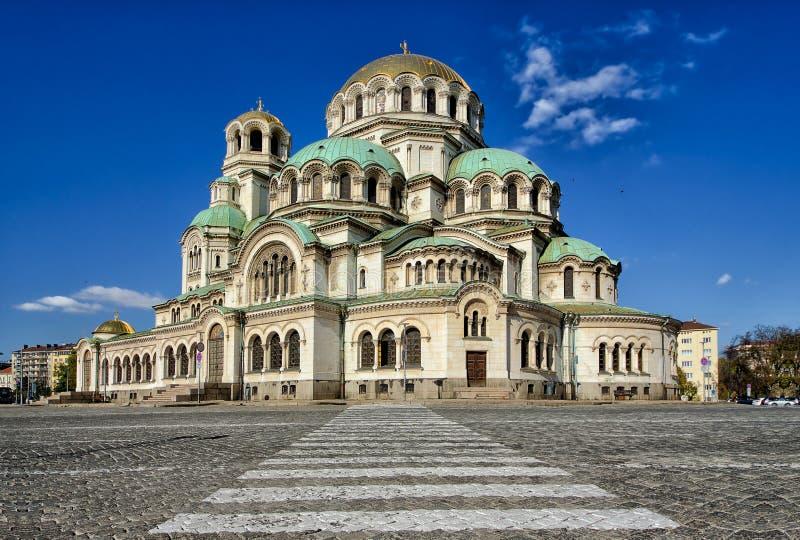 St Alexander Nevsky Cathedral, Sofia images libres de droits