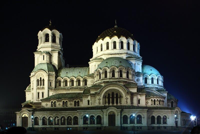 St. Alexander Nevsky kathedraal stock fotografie