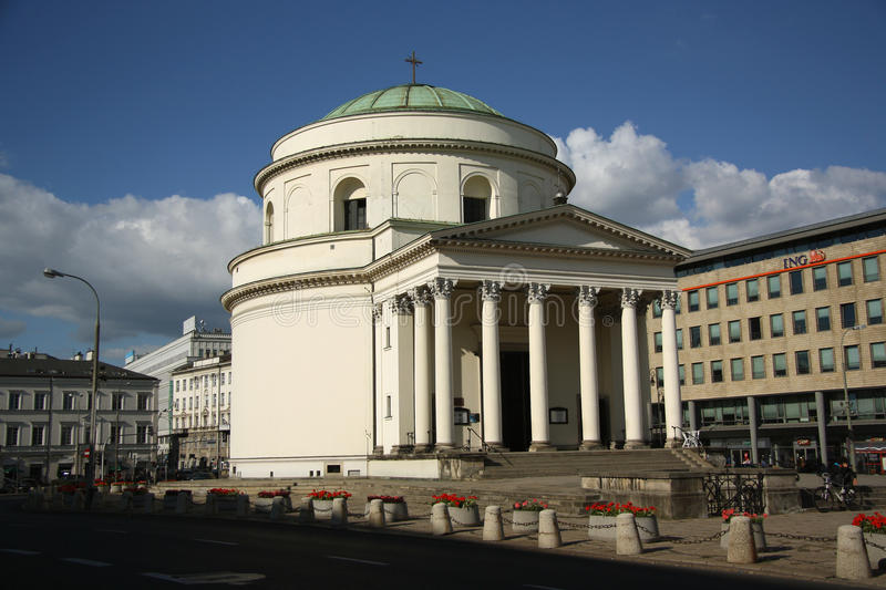 Download St. Alexander's Church In Warsaw (Poland) Editorial Stock Image - Image of warsaw, alexander: 33585254