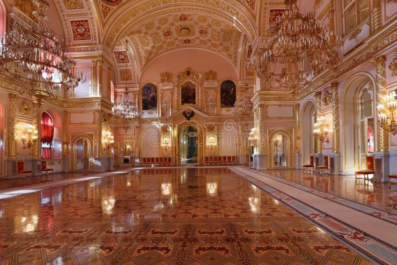 St. Alexander zaal stock afbeelding