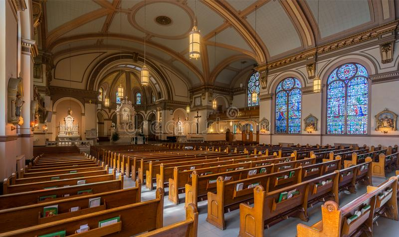 St Aloysius Church royalty-vrije stock afbeelding