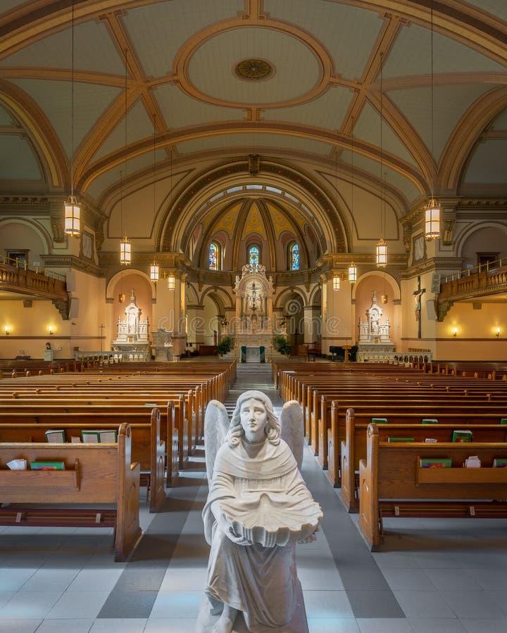 St Aloysius Church stock afbeelding