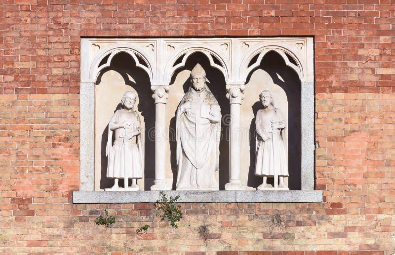 St Ambrose immagini stock
