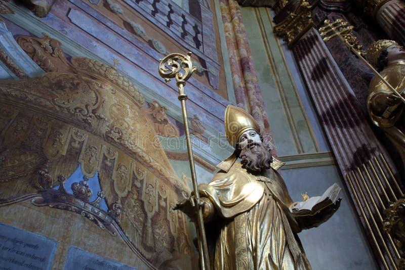 St Ambrose immagini stock libere da diritti