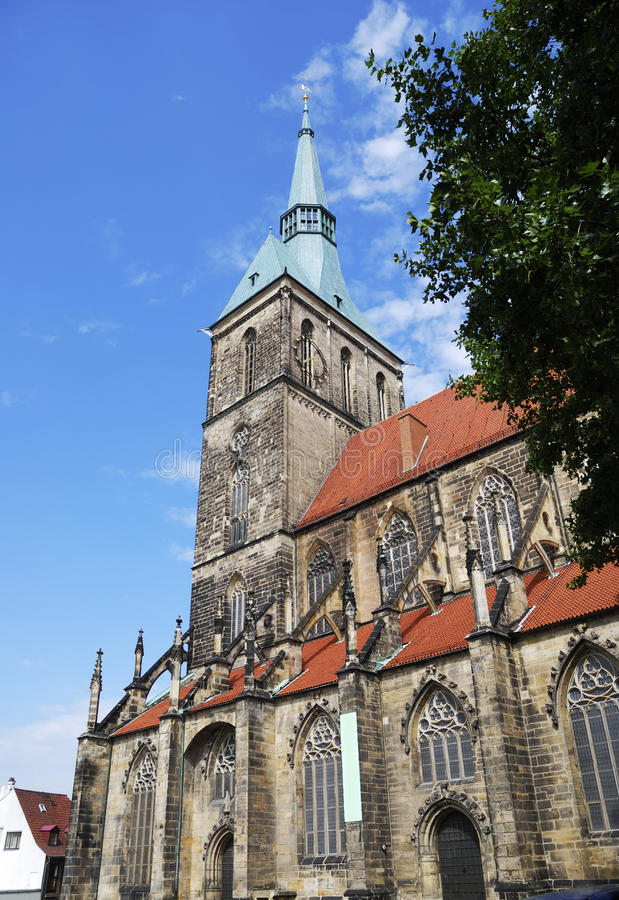 Download St. Andreas church stock photo. Image of steeple, lower - 22273490
