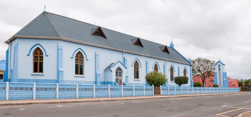 St Andrew Anglicaanse Kerk, Riversdale stock fotografie