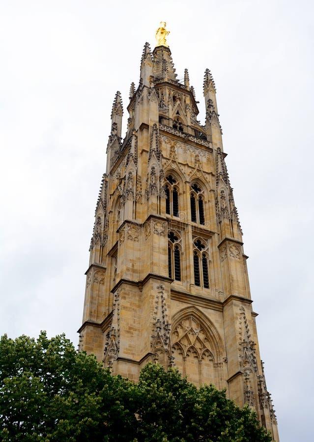 St Andrew Cathedral, Bordeaux, Frankrijk royalty-vrije stock foto's