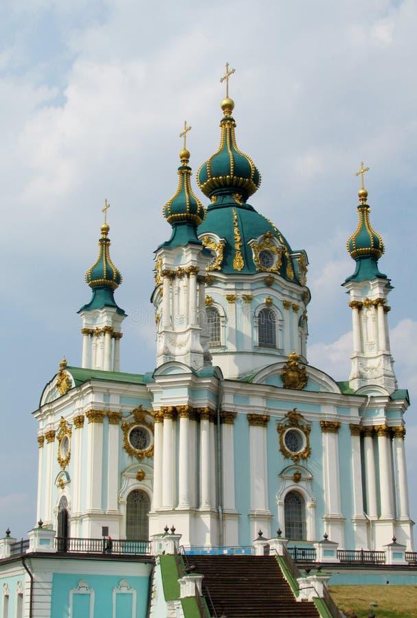 St Andrew & x27; chiesa di s, Kiev, Ucraina fotografia stock