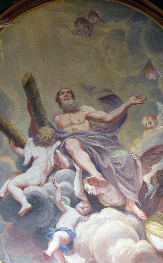 St Andrew el apóstol foto de archivo libre de regalías
