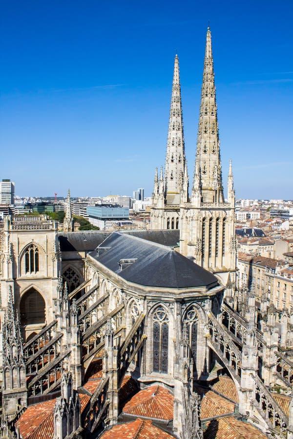 St Andrew Kathedrale, Bordeaux, Frankreich lizenzfreie stockfotos