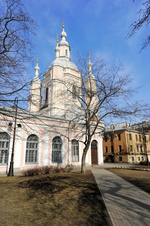 St Andrew Kathedrale - orthodox stockfoto