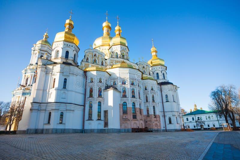 St Andrew Kirchenfassade während der Tageszeit, Kiew stockbild