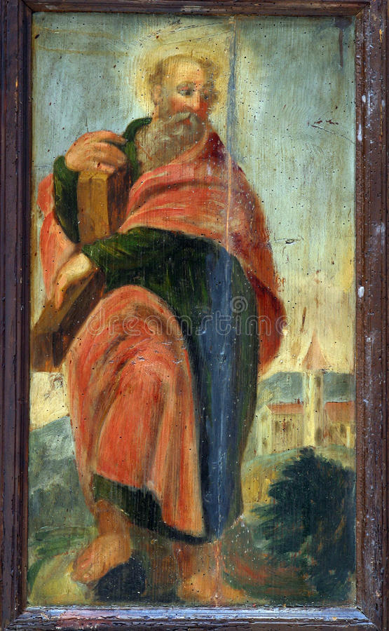 St Andrew l'apostolo immagini stock libere da diritti