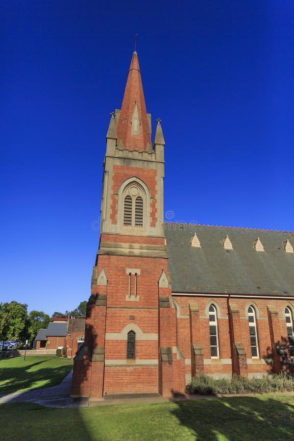 "St Andrew Presbyterian Church do †de Wagga Wagga "" fotografia de stock"