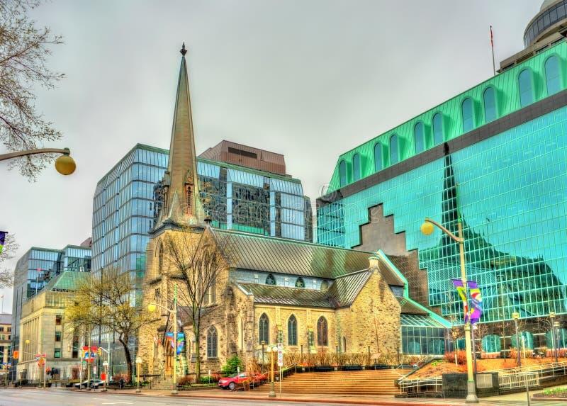 St Andrew Presbyterian Church em Ottawa, Canadá imagens de stock