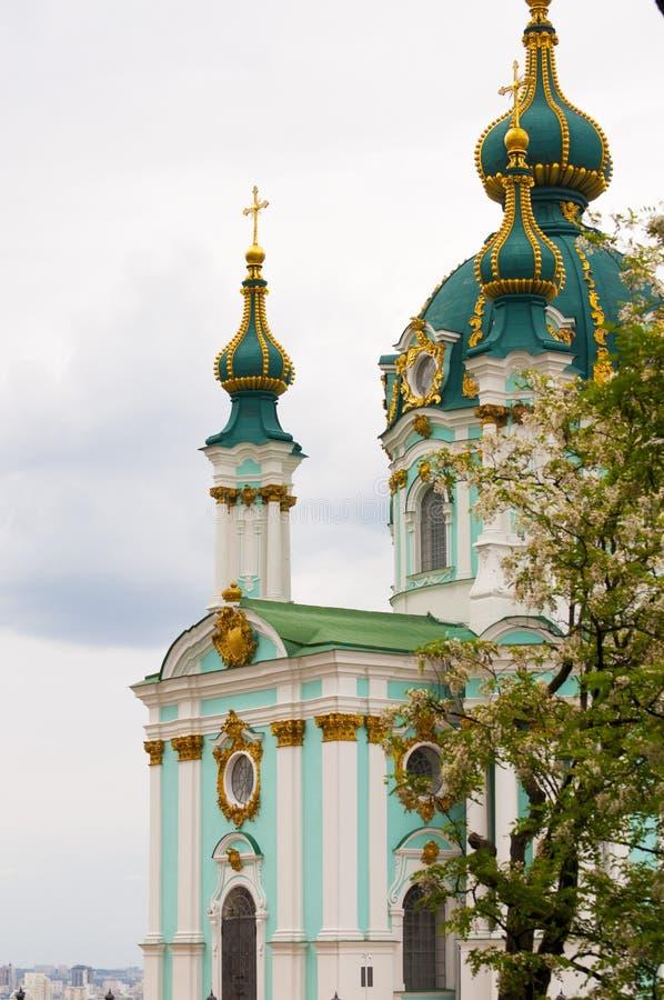 St- Andrew` s Abfall in Kiew, Ukraine lizenzfreie stockfotografie