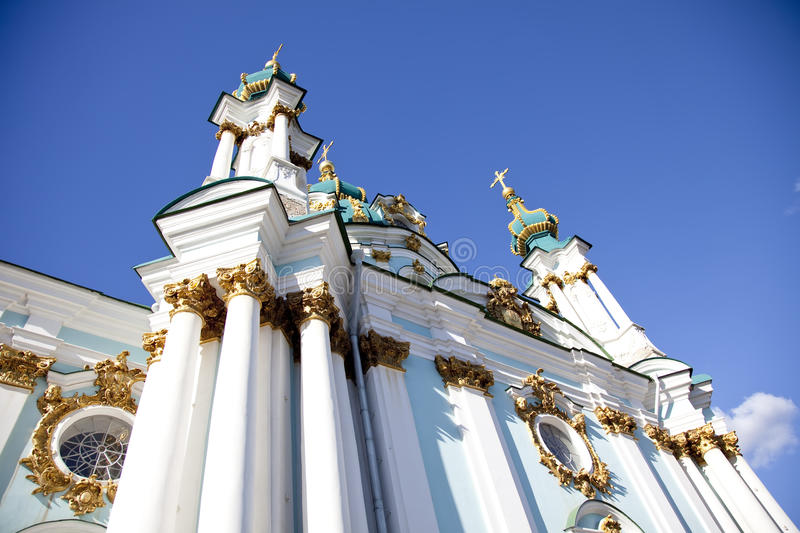 St. Andrew S Cathedral In Kiev Royalty Free Stock Photo