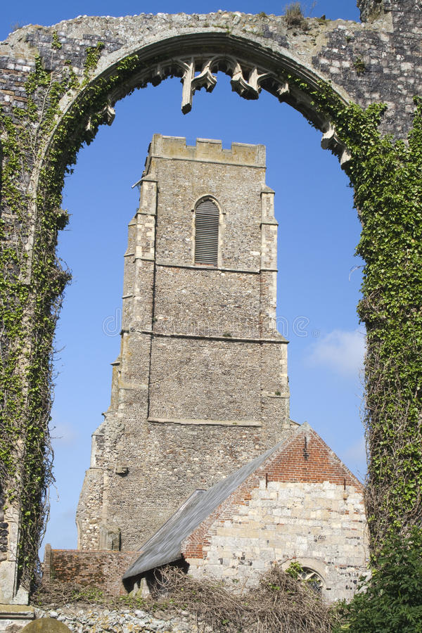 Download St Andrew's Church, Covehithe, Suffolk, England Stock Image - Image: 25440391