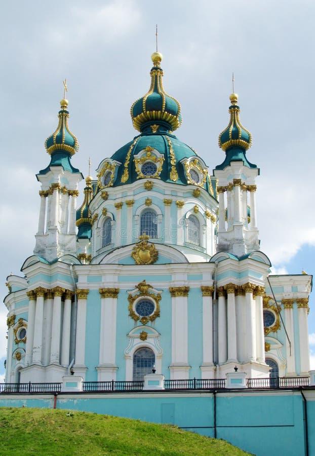 St Andrew S Church Kiev Orthodox Church Stock Photo