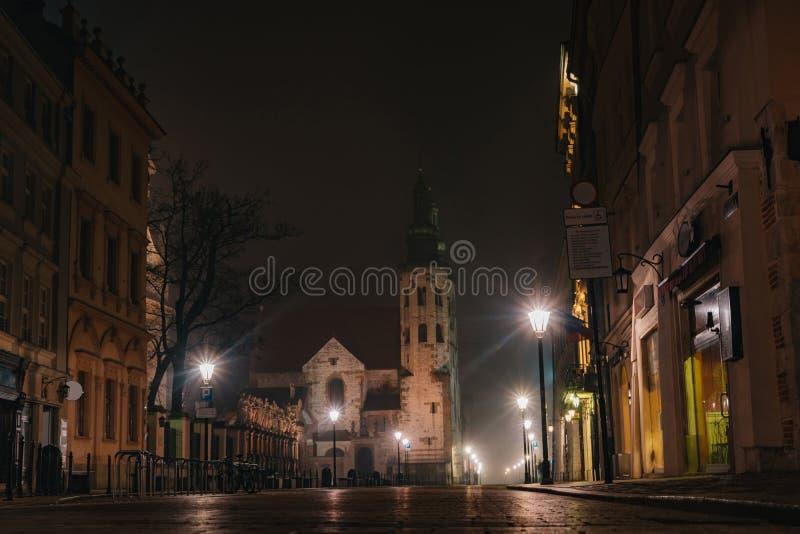 St. Andrew`s Church, Kraków royalty free stock photo