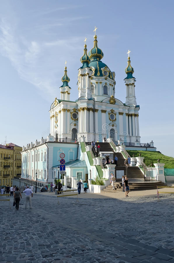 Download St. Andrew's Church In Kyiv Editorial Stock Photo - Image: 26833628
