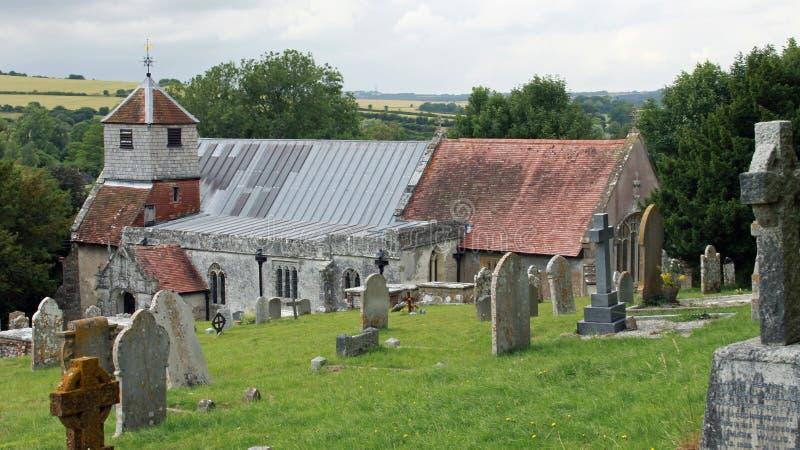 St Andrew ` s Kerk, Rockbourne royalty-vrije stock fotografie