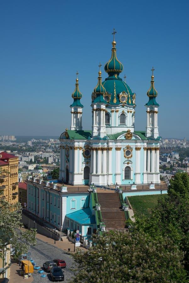 St Andrew u. x27; s-Kirche - Kiew stockfoto