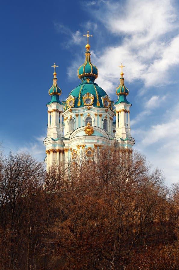 St- Andrewkirche lizenzfreie stockfotos