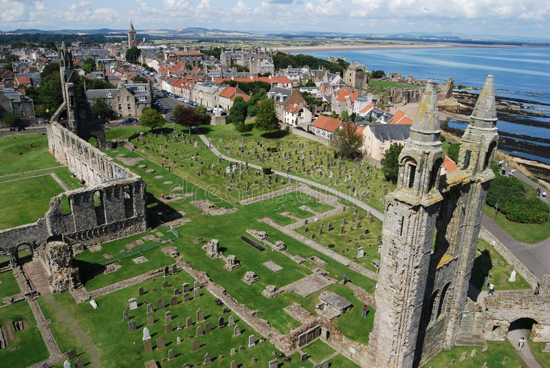 St Andrews immagine stock