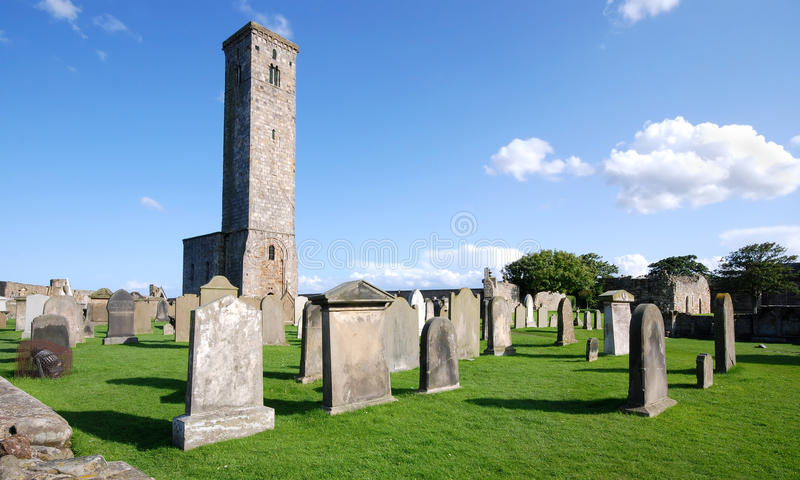 St. Andrews Abbey in Scotland royalty free stock image